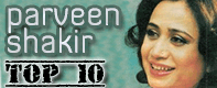 parveen shakir top 10 poetry