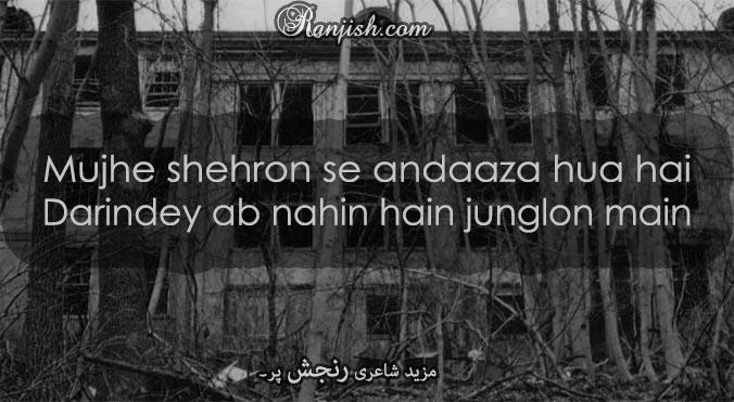 tanhai urdu poetry